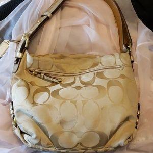 Coach Signature Canvas Duffle Bag